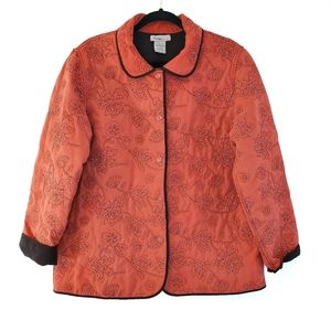 Analogy Quilted Floral Jacket